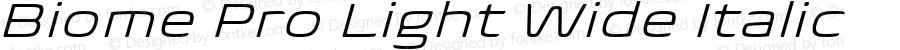 BiomePro-LightWideIt