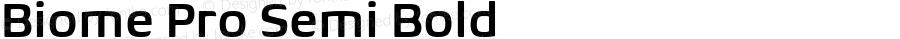 BiomePro-SemiBold