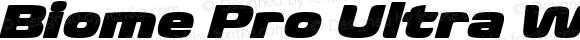Biome Pro Ultra Wide Italic