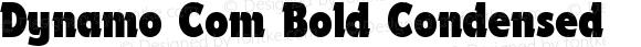 Dynamo Com Bold Condensed