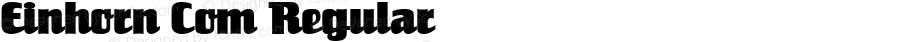 Einhorn Com Regular Version 1.01