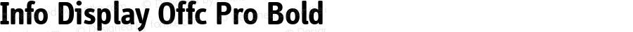 Info Display Offc Pro Bold Version 7.504; 2011; Build 1021