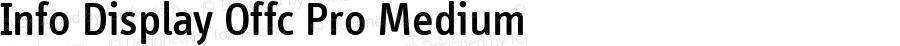 Info Display Offc Pro Medium Version 7.504; 2011; Build 1021