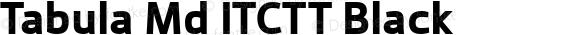 Tabula Md ITCTT Black Version 1.00