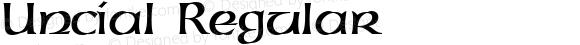 Uncial Regular