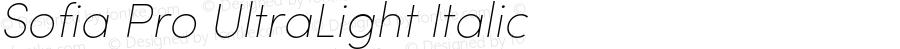 SofiaPro-UltraLightItalic