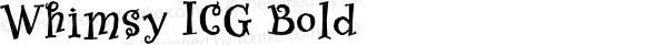 Whimsy ICG Bold