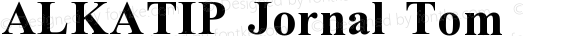 ALKATIP Jornal Tom