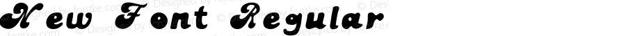 New Font Regular