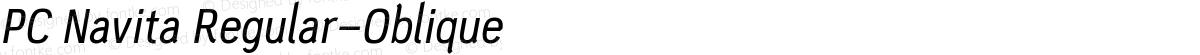 PC Navita Regular-Oblique