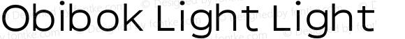 Obibok Light Light