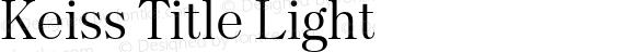 Keiss Title Light