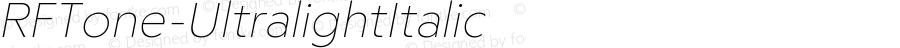 ☞RF Tone Ultralight Italic