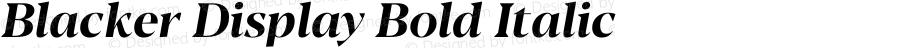 BlackerDisplay-BoldItalic