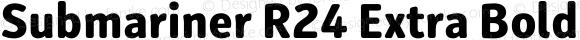Submariner R24 Extra Bold