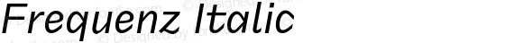 Frequenz Italic