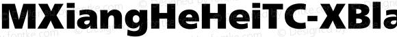MXiangHeHeiTC-XBlack