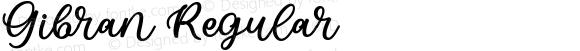Gibran Regular
