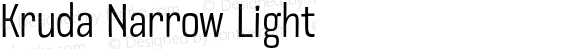 Kruda Narrow Light