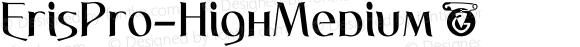 ErisPro-HighMedium ☞ Version 1.000;com.myfonts.easy.dbsv-moulding-ideas.eris-pro.high-medium.wfkit2.version.5cY4