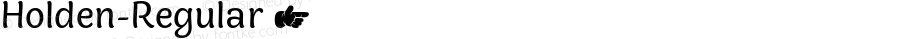 Holden-Regular ☞ Version 1.000;com.myfonts.easy.zetafonts.holden.regular.wfkit2.version.5cZx