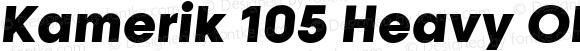 Kamerik 105 Heavy Oblique