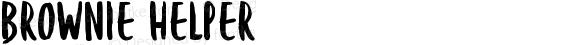 Brownie Helper Version 1.000;PS 001.000;hotconv 1.0.88;makeotf.lib2.5.64775