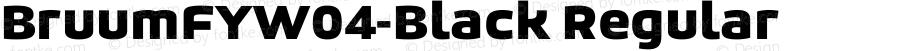 BruumFYW04-Black Regular Version 1.1