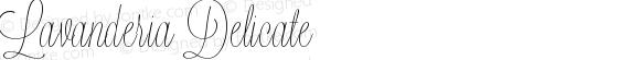 Lavanderia Delicate Version 1.100