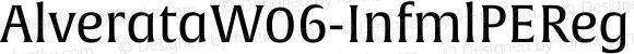 AlverataW06-InfmlPEReg Regular Version 1.1
