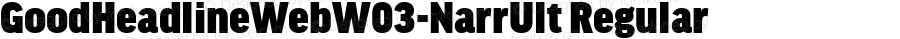 GoodHeadlineWebW03-NarrUlt Regular Version 7.504
