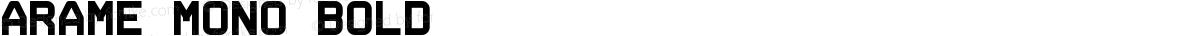 Arame Mono Bold