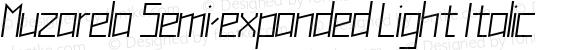 Muzarela Semi-expanded Light Italic