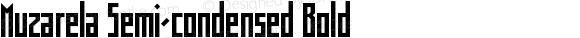 Muzarela Semi-condensed Bold