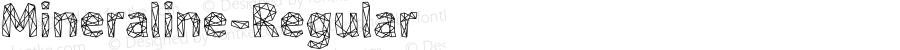 Mineraline-Regular ☞ Version 1.000;com.myfonts.easy.formation-type-foundry.mineraline.regular.wfkit2.version.4oUg