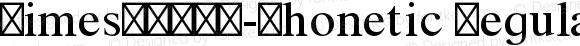 TimesLTW90-Phonetic Regular Version 2.126