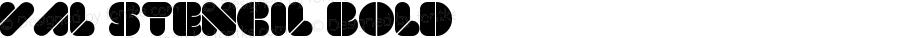 VAL Stencil Bold 001.001