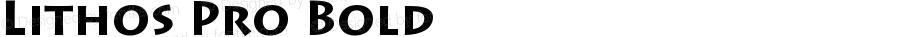 Lithos Pro Bold OTF 1.017;PS 001.000;Core 1.0.27;makeotf.lib1.3.1