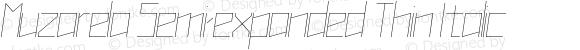Muzarela Semi-expanded Thin Italic