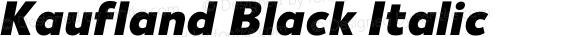Kaufland Black Italic