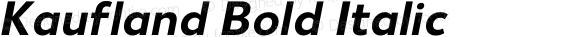 Kaufland Bold Italic
