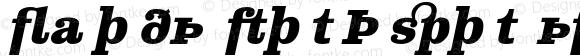 Clarendon Text Expert Bold Ital
