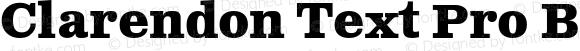 Clarendon Text Pro Bold