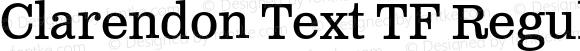 Clarendon Text TF