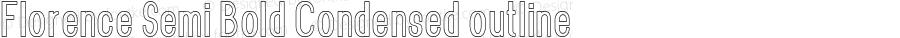 Florence-SemBdCondoutline