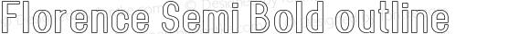 Florence-SemiBoldoutline