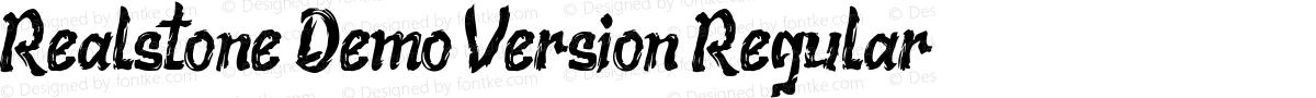 Realstone Demo Version Regular
