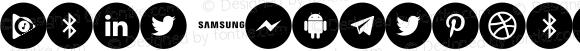 Font Smartphone Pro 2018 Regular Version 1.00;2019; elharrak fonts : https://www.elharrakfonts.com/