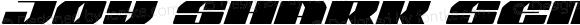 Joy Shark Semi-Expanded Italic Semi-Expanded Italic
