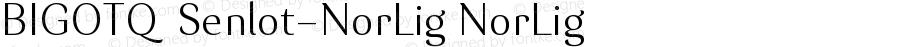 BIGOTQ+Senlot-NorLig NorLig Version 1.0